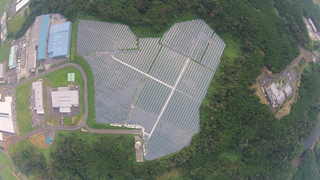 滋賀県甲賀市太陽光発電所