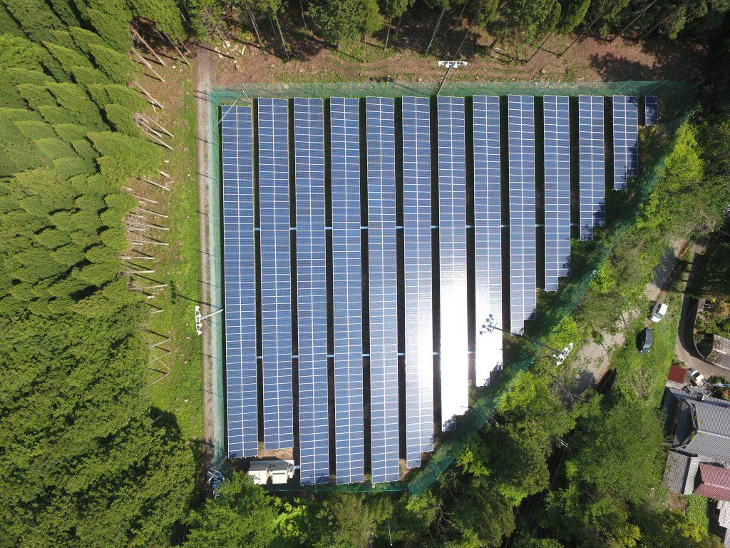 滋賀県東近江市宮林太陽光発電所